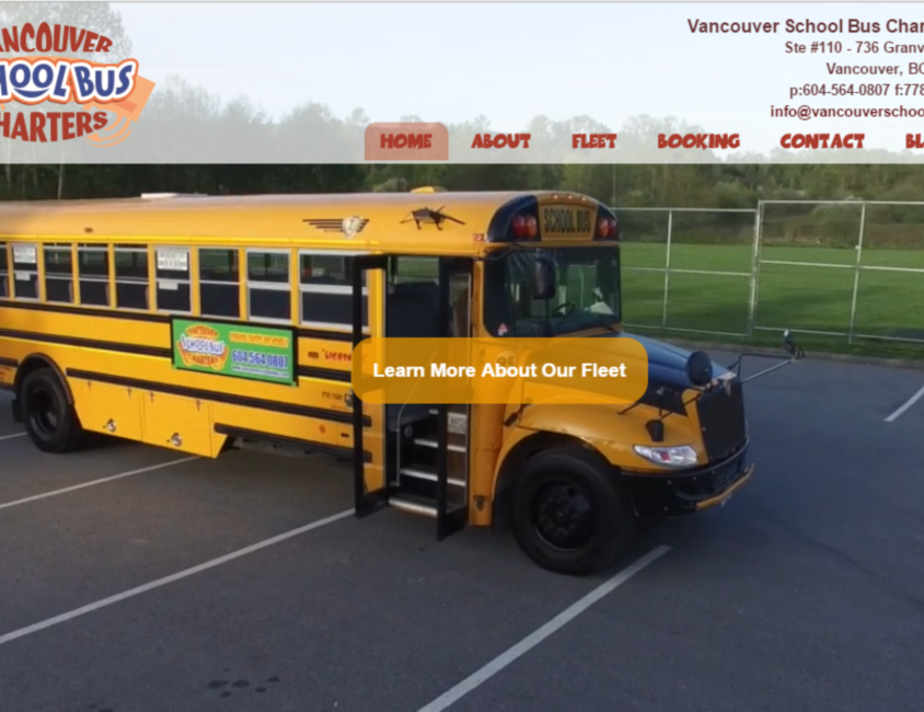 Vancouver School Bus Charters