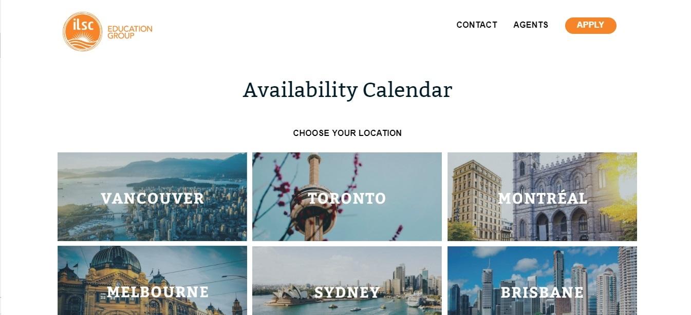 ILSC Availability Calendar