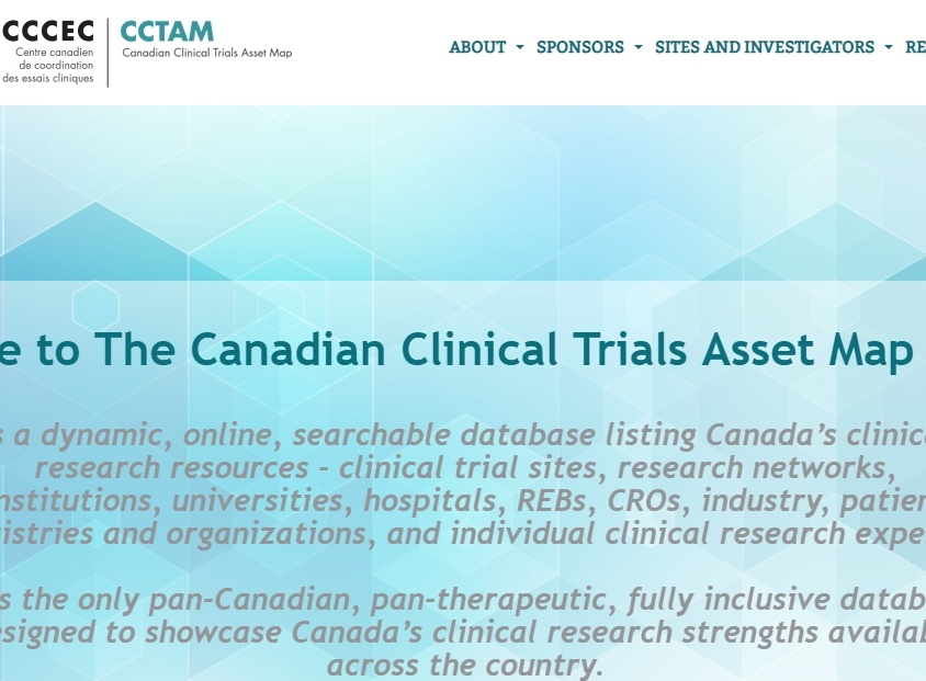 Canadian Clinical Trials Asset Map (CCTAM)