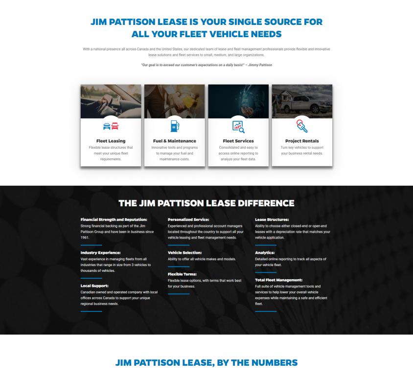 Jim Pattison Lease