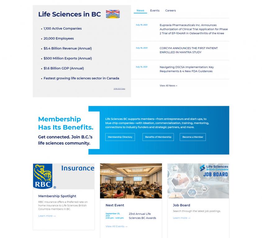 Life Sciences BC